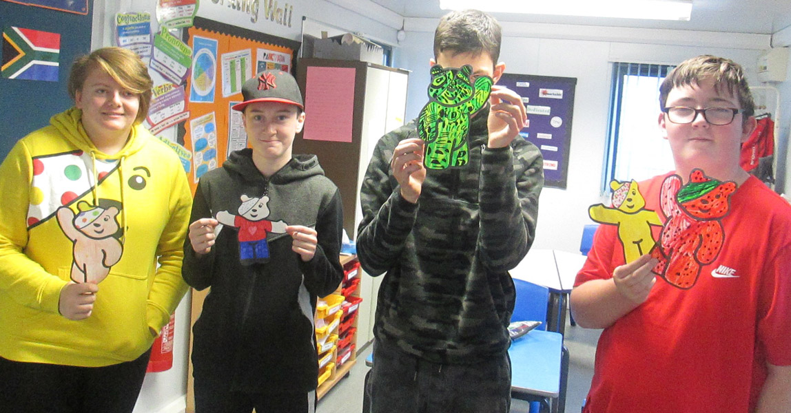 Children in Need at Small Haven School