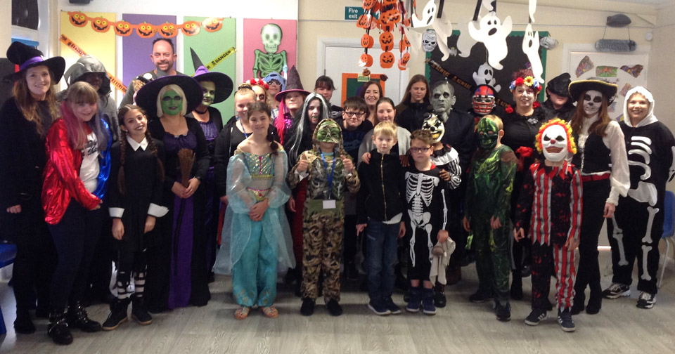 Halloween at Small Haven School